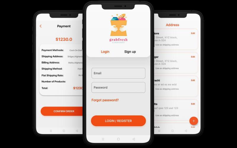 grab fresh mobile app