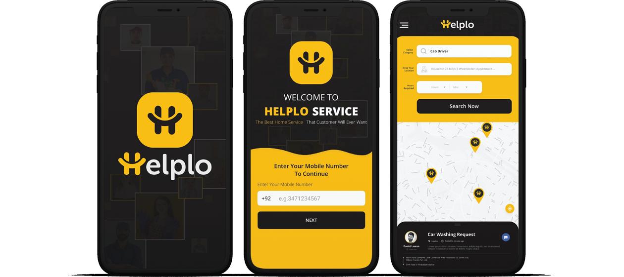 helplo mobile app