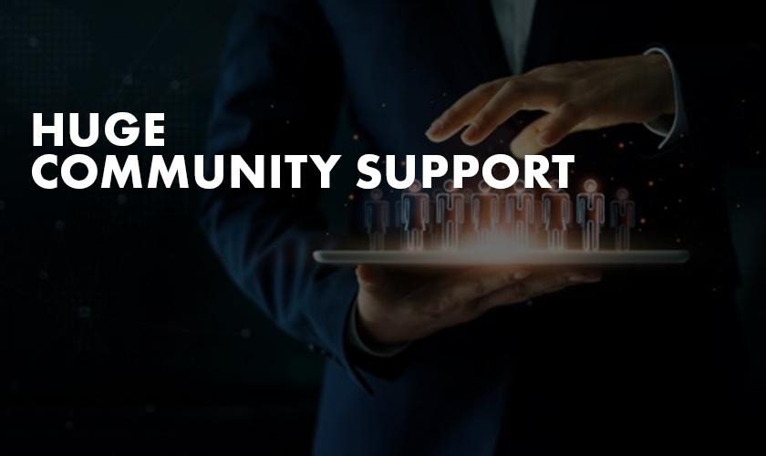 huge-community-support