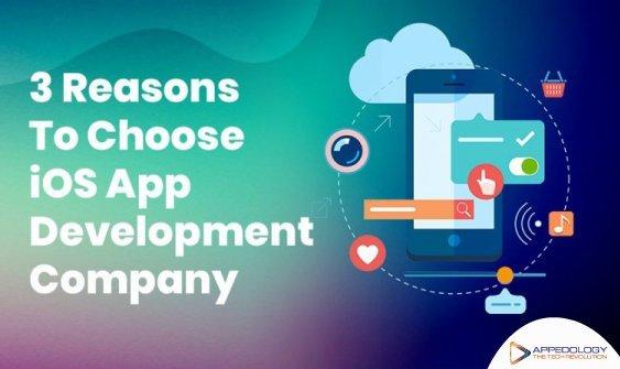 3 Reasons To Choose iOS App Development Company