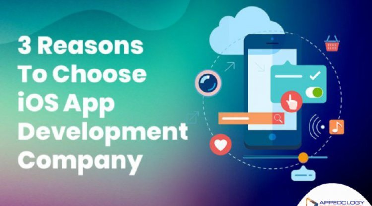 3 Reasons To Choose iOS App Development Company