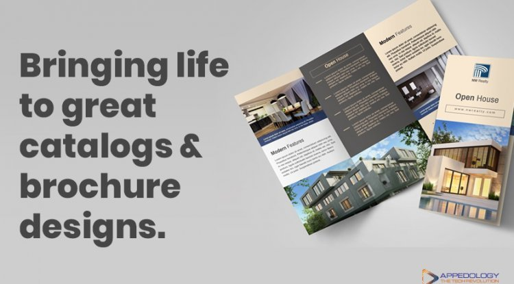 Bringing Life To Great Catalogs and Brochure Designs