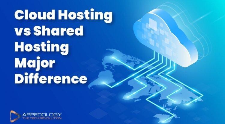 Cloud Hosting vs Shared Hosting Major Difference