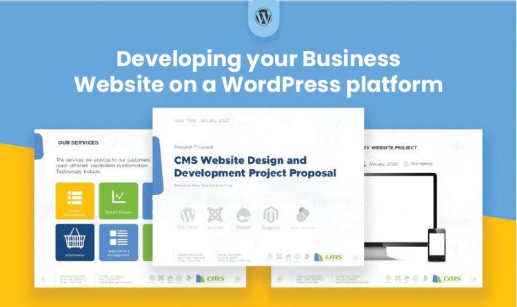 Developing your Business Website on a Wordpress platform