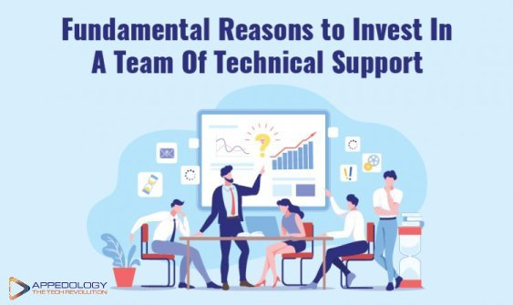 Fundamental Reasons to Invest In A Team Of Technical Support