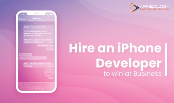 Hire an iPhone Developer to win at Business