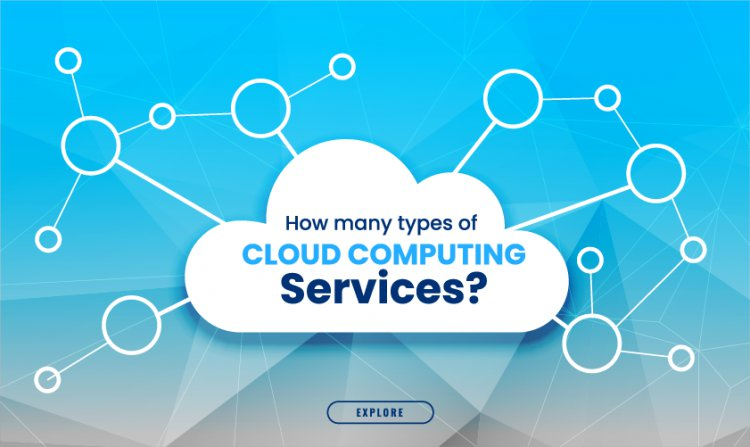 How many types of cloud computing services?