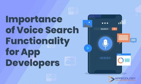 Importance of Voice Search Functionality for App Developers