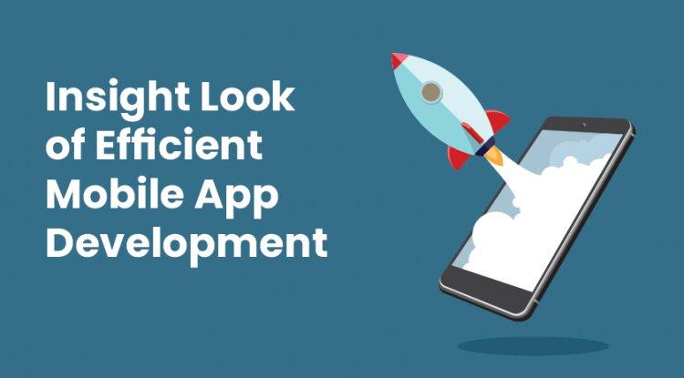 Insight Look of Efficient Mobile App Development