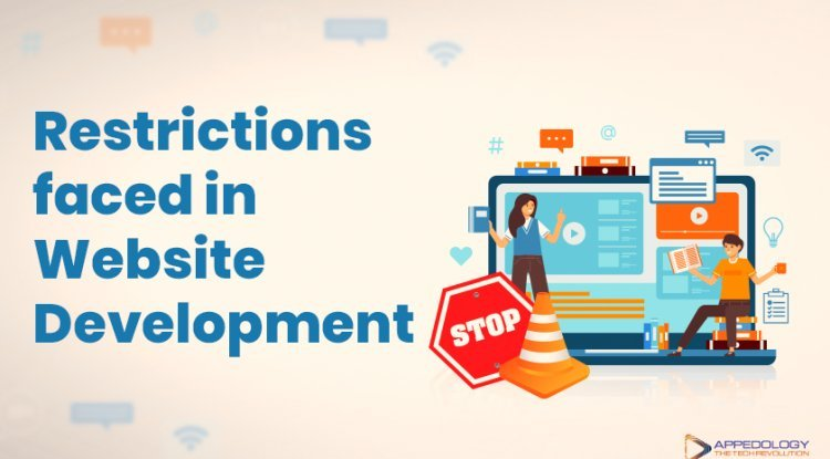 Restrictions faced in Website Development
