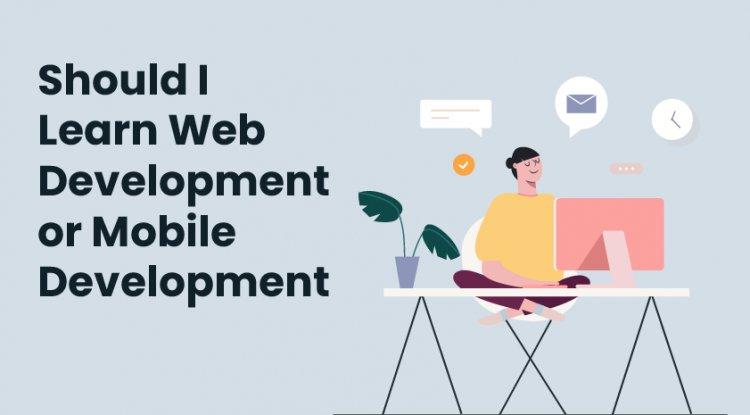 should i learn web development or mobile development