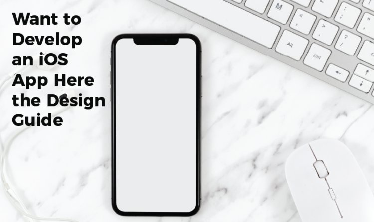 Want to Develop an iOS App Here the Design Guide